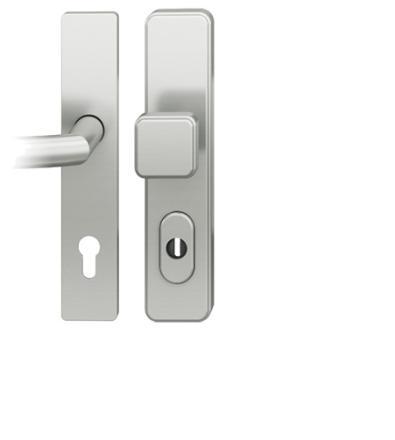FSB Schutzbeschlag 7381 Aluminium Wechselgarnitur